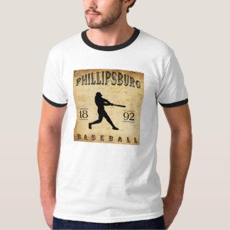 1892 Phillipsburg Pennsylvania Baseball Shirt