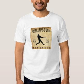 1892 Phillipsburg Pennsylvania Baseball Tee Shirt