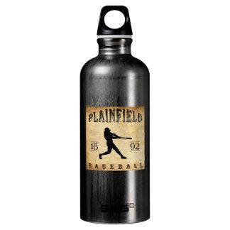 1892 Plainfield New Jersey Baseball Aluminum Water Bottle