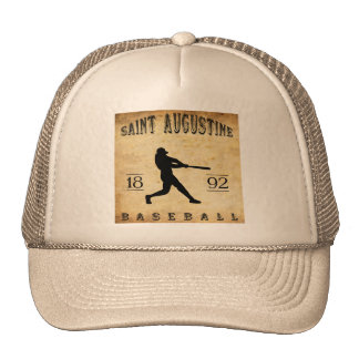1892 Saint Augustine Florida Baseball Trucker Hat