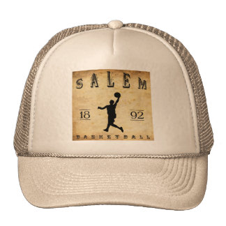 1892 Salem Oregon Basketball Trucker Hat