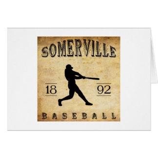 1892 Somerville New Jersey Baseball Card