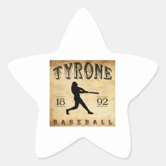 1892 Tyrone Pennsylvania Baseball Star Sticker