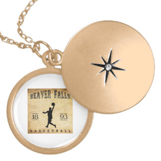 1893 Beaver Falls Pennsylvania Basketball Custom Necklace