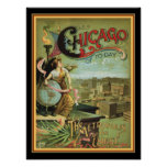 "1893 Chicago ""Metropolis of the West"" 12 x 16 Poster"