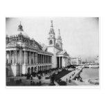 1893 Columbia Exposition, Palace of Mechanic Arts Postcard