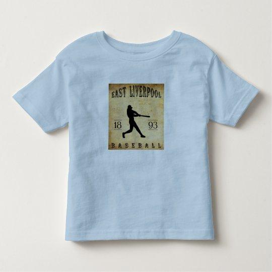 1893 East Liverpool Ohio Baseball Toddler T-shirt