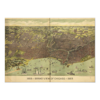 1893 Grand View of Chicago Illinois Card