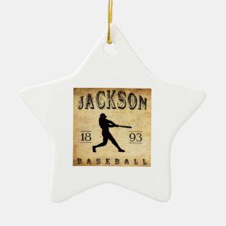 1893 Jackson Mississippi Baseball Ceramic Ornament