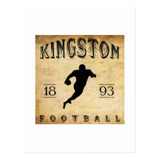 1893 Kingston Ontario Canada Football Postcard