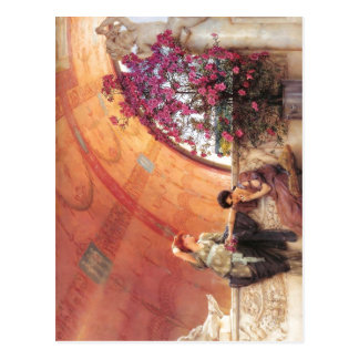 1893 Lawrence Alma-Tadema - rivales inconscientes  Tarjetas Postales