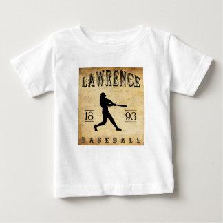 1893 Lawrence Kansas Baseball Baby T-Shirt