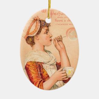 1893 Linden Bloom Perfume Ceramic Ornament