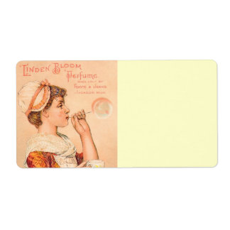 1893 Linden Bloom Perfume Shipping Label