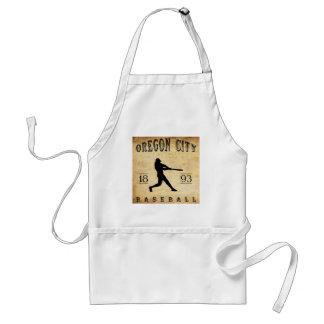 1893 Oregon City Oregon Baseball Adult Apron