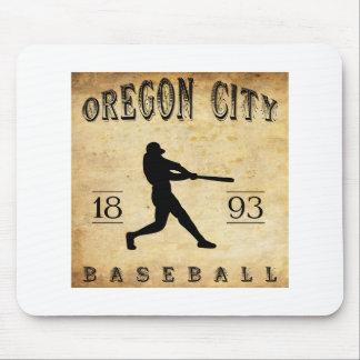 1893 Oregon City Oregon Baseball Mouse Pad