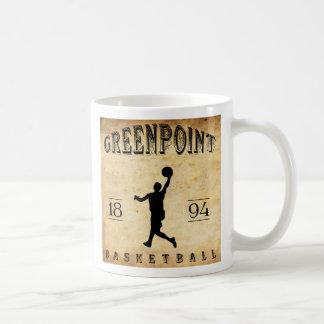 1894 Greenpoint New York Basketball Coffee Mug