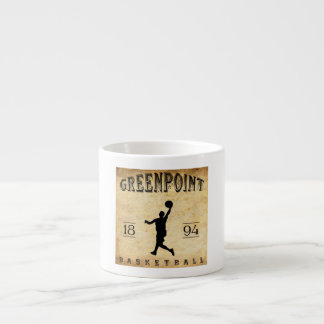 1894 Greenpoint New York Basketball Espresso Cup