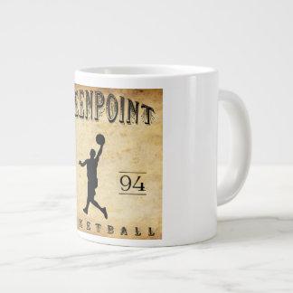 1894 Greenpoint New York Basketball Giant Coffee Mug