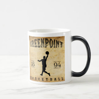 1894 Greenpoint New York Basketball Magic Mug