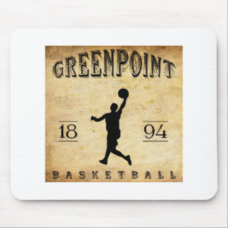 1894 Greenpoint New York Basketball Mouse Pad