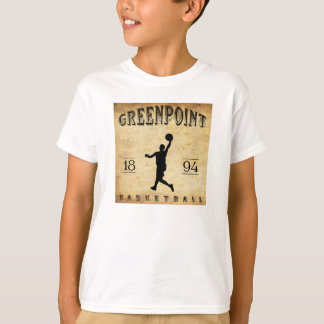 1894 Greenpoint New York Basketball T-Shirt