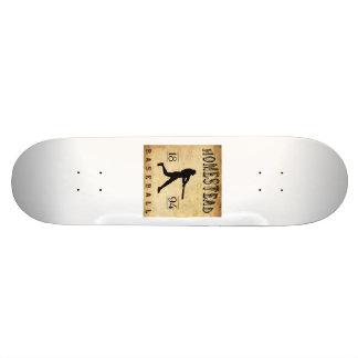 1894 Homestead Pennsylvania Baseball Custom Skateboard