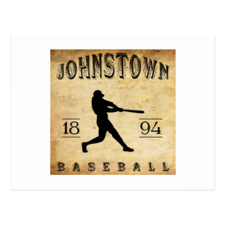 1894 Johnstown New York Baseball Postcard