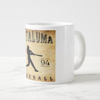1894 Petaluma California Baseball Large Coffee Mug