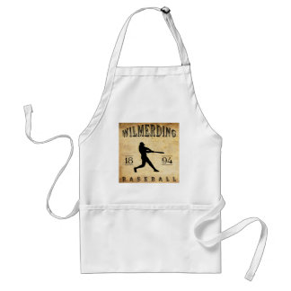 1894 Wilmerding Pennsylvania Baseball Adult Apron