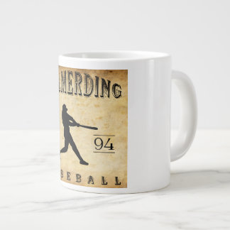 1894 Wilmerding Pennsylvania Baseball Giant Coffee Mug