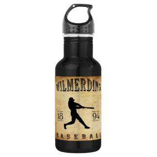 1894 Wilmerding Pennsylvania Baseball Stainless Steel Water Bottle