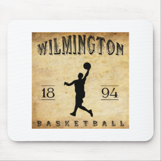 1894 Wilmington Delaware Basketball Mouse Pad