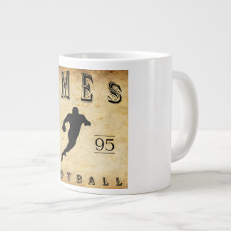 1895 Ames Iowa Football Giant Coffee Mug