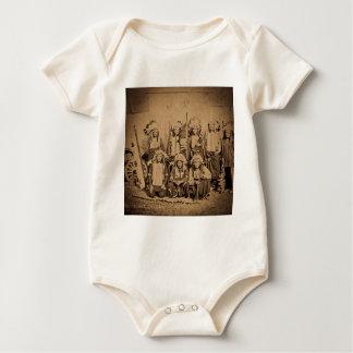 1895 Buffalo Bill Wild West Show Sioux Chiefs Baby Bodysuit