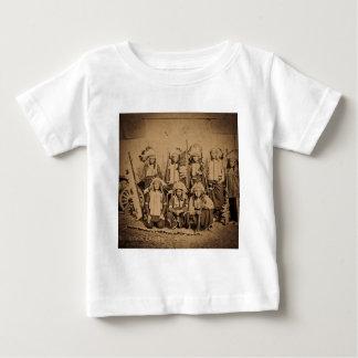 1895 Buffalo Bill Wild West Show Sioux Chiefs Baby T-Shirt