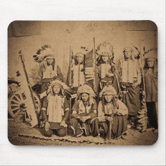 1895 Buffalo Bill Wild West Show Sioux Chiefs Mouse Pad