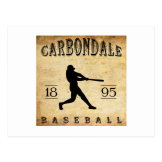 1895 Carbondale Pennsylvania Baseball Postcard