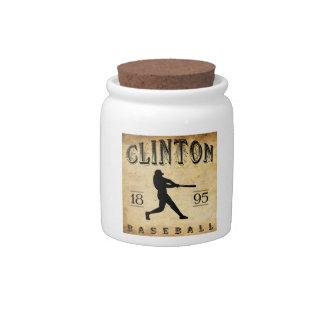 1895 Clinton Iowa Baseball Candy Dishes