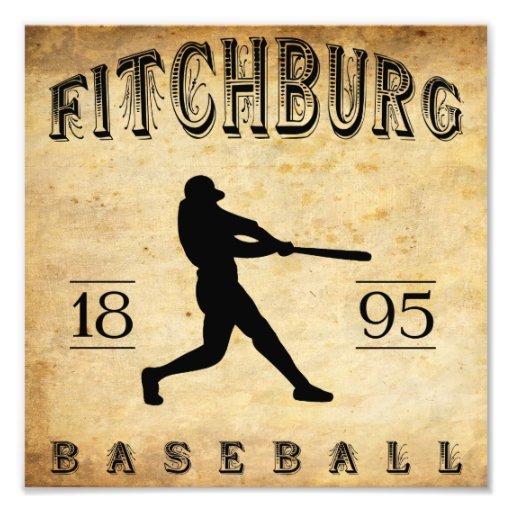1895 Fitchburg Massachusetts Baseball Photo