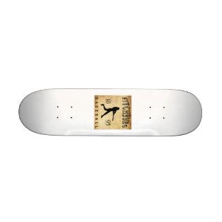 1895 Fitchburg Massachusetts Baseball Custom Skate Board
