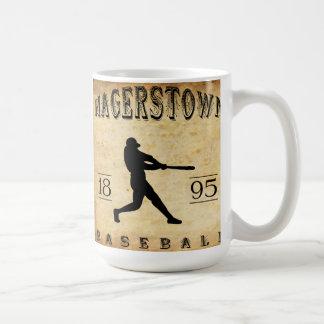 1895 Hagerstown Maryland Baseball Mug