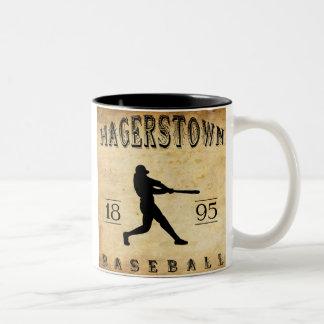 1895 Hagerstown Maryland Baseball Coffee Mugs