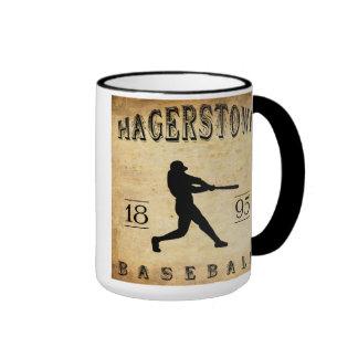 1895 Hagerstown Maryland Baseball Coffee Mug
