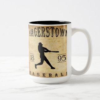 1895 Hagerstown Maryland Baseball Mugs