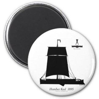 1895 Humber Keel - tony fernandes Magnet