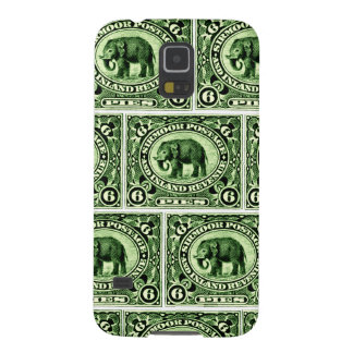 1895 Indian Princely States Elephant Galaxy S5 Cover