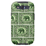 1895 Indian Princely States Elephant Samsung Galaxy S3 Cases