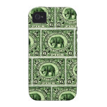 1895 Indian Princely States Elephant iPhone 4/4S Covers