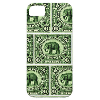 1895 Indian Princely States Elephant iPhone 5 Cases